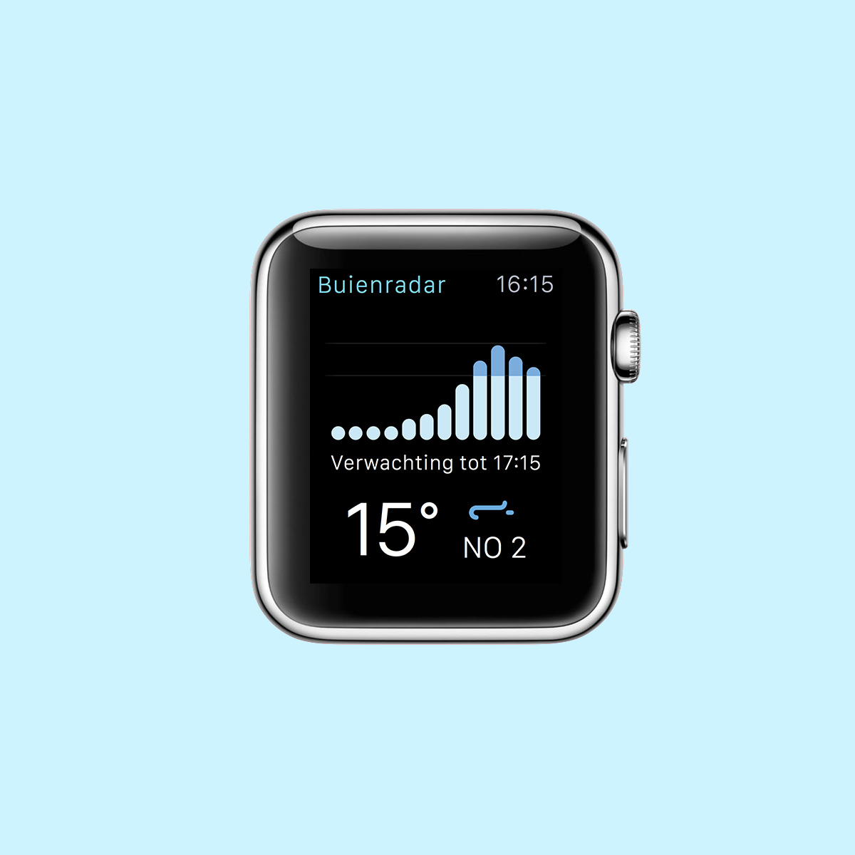 Buienradar apple watch app