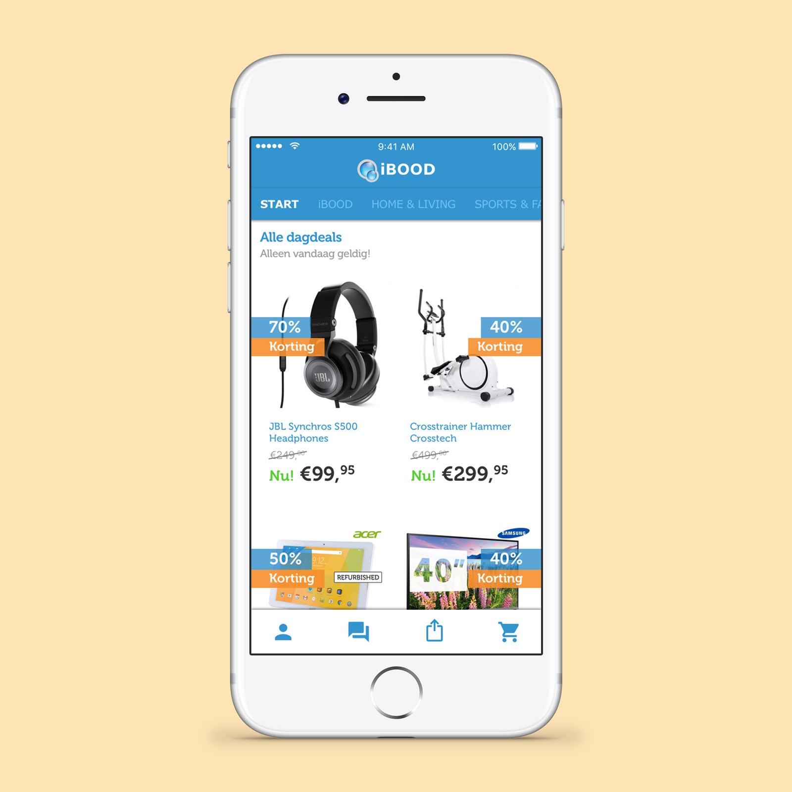 iBOOD eCommerce app - Noukka