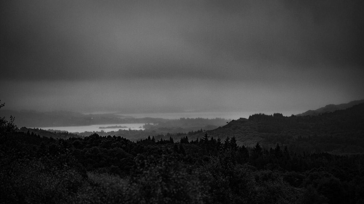 Irish valley view